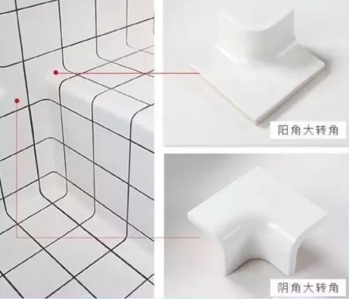 瓷砖铺贴你家还是直角收边?国外都流行用圆角瓷砖,省事还漂亮!插图6