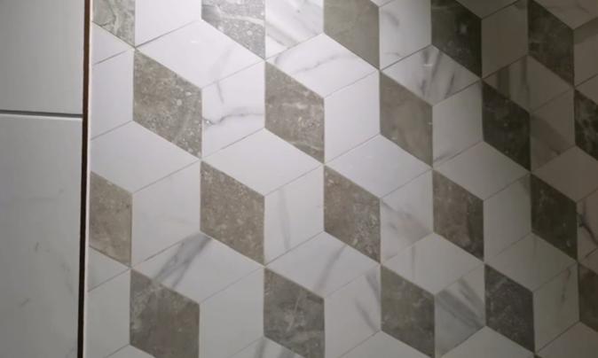 轻奢水刀拼花瓷砖,有适合你家装修风格的吗?插图4
