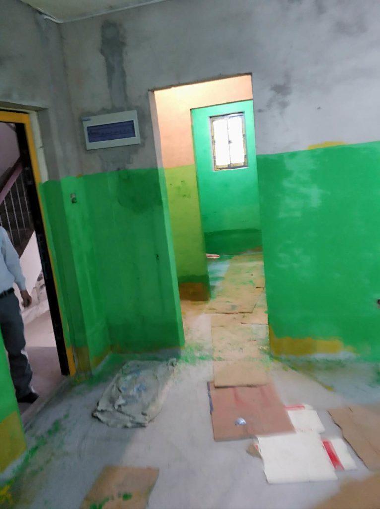 五河新村-防水施工
